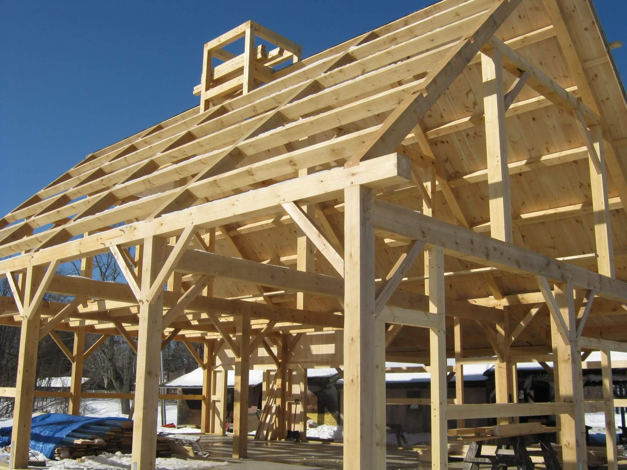 Timber Framed Building : Timberpoint building timberframe construction restoration