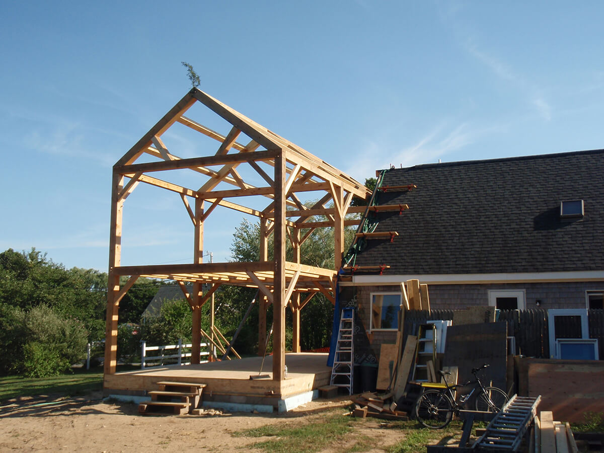 Construction – Timberpoint Building